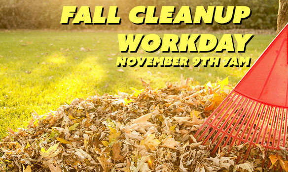 Fall Cleanup Workday