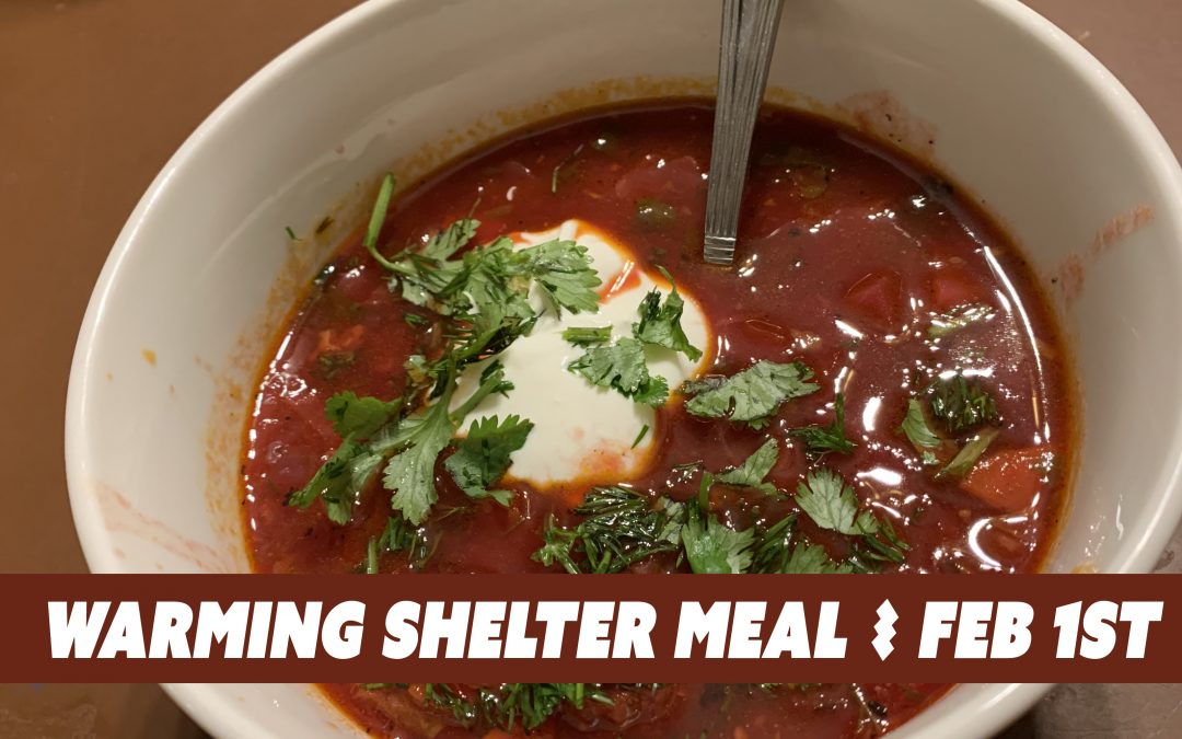Warming Shelter Meal