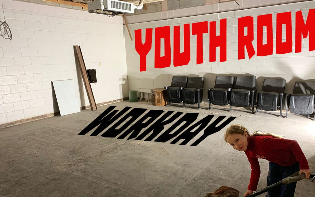 Youth Room Work Day